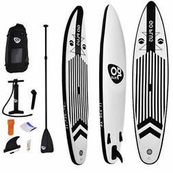 11' Inflatable Stand Up Paddle Board w/ Adjustable Paddle Tr