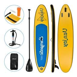 11' Inflatable SUP Stand up Paddle Board Surfboard Adjustabl