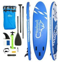 "11' x 32"" Inflatable Stand Up Paddle Surf Board SUP Package"