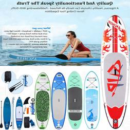 11'/10' Inflatable Stand Up Paddle Board  w/ SUP Accessories