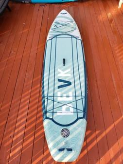 Peak  11ft. Expedition Inflatable Stand Up Paddle Board, Aqu