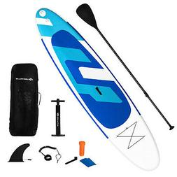 "11ft Inflatable Stand Up Paddle Board 6"" Thick w/ Backpack"