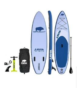 Atoll  11ft Inflatable Stand Up Paddleboard light blue  with