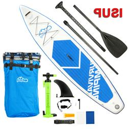 12 Inflatable SUP Stand Up Paddle Board Surfboard W/ Premium