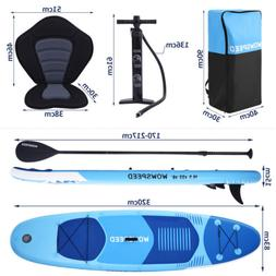 320cm Inflatable Stand Up Paddle Board SUP Surfboard With Co