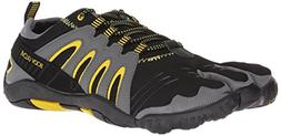 Body Glove Men's 3T Barefoot Warrior Water Shoe, Black/Yello