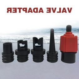 4 Nozzle Sup Durable Pump Adapter Inflatable Boat Air Valve