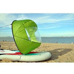 "42"" Durable Downwind Wind Sail Sup Paddle Board Instant Popu"