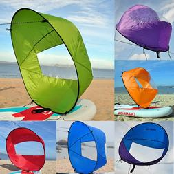 """42"""" Portable PVC Downwind Wind Paddle Instant Popup Board Ka"""
