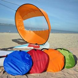 42 portable pvc downwind wind paddle instant