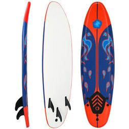 6' Surfboard Stand Up Paddle Board SUP Ocean Beach Surf Boar