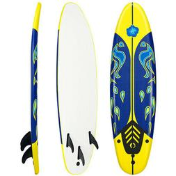 6' Surfboard Stand Up Paddle Board SUP Ocean Beach Surf Bo