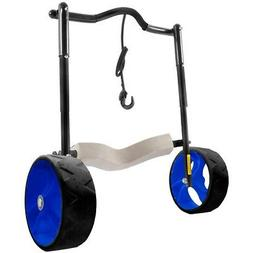 "Seattle Sports 62015 Black 17"" Original End Cart w/ Cobalt W"