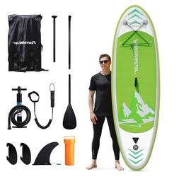 """Famistar 8'7"""" Inflatable Stand Up Paddle Board SUP w/ 3 Fins"""