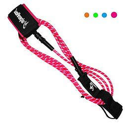 A ALPENFLOW 8' Premium Surfboard Leash Leg Rope SUP Legrop