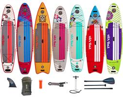 9'-12' Paddle Boards SUP w/ Complete Kit -  1-Year Limited W