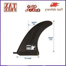 9 Inch Quick Release Slide In Fin For Inflatable Paddleboard