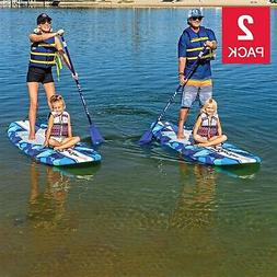 Wavestorm 9ft 6in Stand Up Paddleboard Blue Camo , SUP Lake