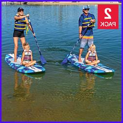 9ft 6in stand up paddleboard blue camo