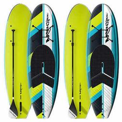 Wavestorm 9ft 6in SUP Expedition 2-pack: adjustable paddle,