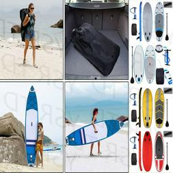 10/11ft Inflatable Stand Up Paddle Board SUP Surfboard w/ Ad