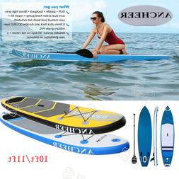 ANCHEER 11' Inflatable Stand Up Paddle Board Universal SUP W