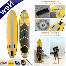 Ancheer 10ft Inflatable Stand Up Paddle Board ISUP w/Paddle