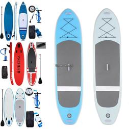 Ancheer 10' Inflatable Stand Up Paddle Board SUP Fin Adjusta