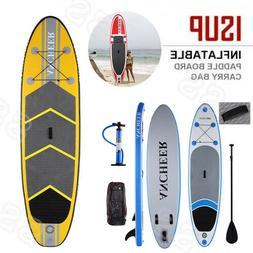 "Ancheer 10' 10"" SUP Inflatable Stand Up Paddle Board For Hol"