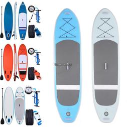 Ancheer Inflatable Stand Up Paddle Board  Universal SUP Wide
