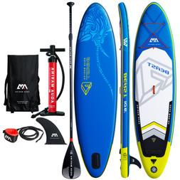 "Aqua Marina 10'6"" Inflatable Stand Up Paddle Board  with Pum"