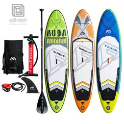 10' Aqua Marina Inflatable Stand Up Paddle Board with Paddle