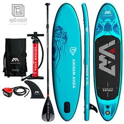"Aqua Marina Vapor 9'10"" Stand Up Paddle Board Inflatable SUP"