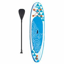 Banzai 10' Inflatable SUP Stand Up Paddle Board Adjustable P