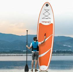 BEST 10' Inflatable SUP Stand Up Paddle Board Pump Carry Bag