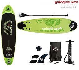 "Aqua Marina Breeze 9' 9"" Stand Up Paddle Board Inflatable SU"