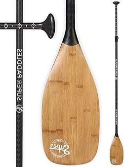 Super Paddles Carbon Fiber SUP Paddle - 3-Piece Adjustable S