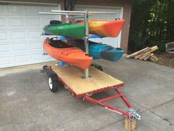 CarriCo Watersports Kayak Carrier Rack Canoes Boats Paddlebo
