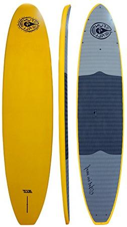 "Art in Surf Composite Hit Paddle Board, Yellow, 9'6"" x 32"" x"