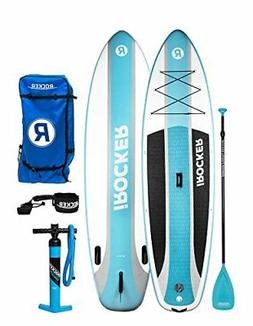 iROCKER CRUISER Inflatable Stand Up Paddle Board 10'6 Long 3