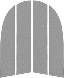 Dog Traction Pad - 4 Piece Customizable Deck Grip for the No