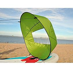 """Dyna-Living 42"""" Durable Downwind Wind Sail Sup Paddle Board"""