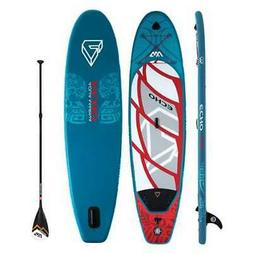 Aqua Marina Echo 10.6 Foot SUP Stand Up Paddleboard w/ Paddl