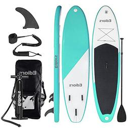 Ediors Inflatable SUP Stand Up Paddle Board  Universal Wide