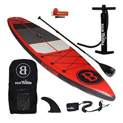 BRIGHT BLUE Enhanced Inflatable Stand Up Paddleboard 11'6""