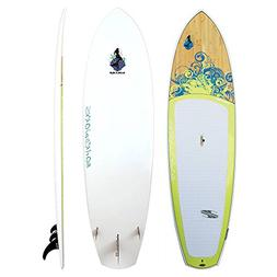 Boardworks EPXV Sirena Grey/Wood/Light Yellow Paddle Board E