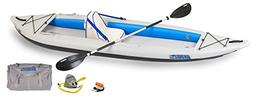 Sea Eagle 385FT FastTrack Deluxe Solo Inflatable Kayak 12'6""