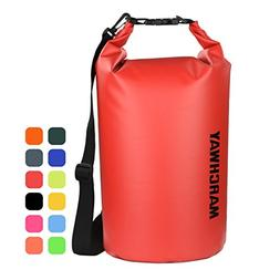 MARCHWAY Floating Waterproof Dry Bag 5L/10L/20L/30L, Roll To
