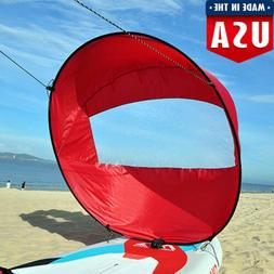 Foldable Downwind Wind Paddle Popup Board For Canoe Kayak Sa