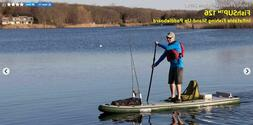 """Sea Eagle FS12'6"""" Inflatable Fishing SUP Startup combining f"""